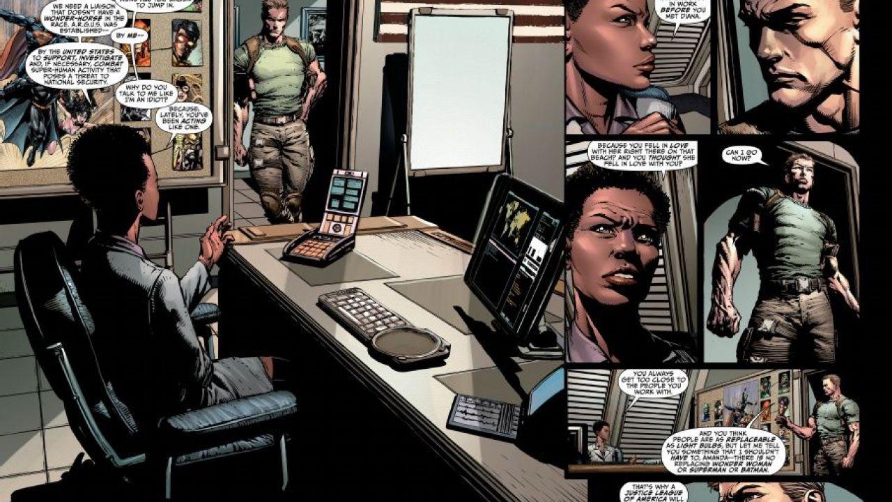 Justice League of America: alcune tavole in anteprima