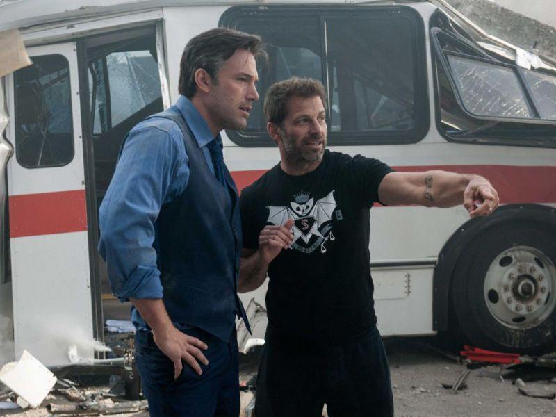 Justice League, Zack Snyder loda Ben Affleck: 'E' tornato in perfetta forma'