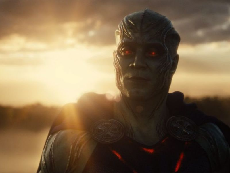 Justice League: Zack Snyder rivela come ha girato il cameo di Martian Manhunter