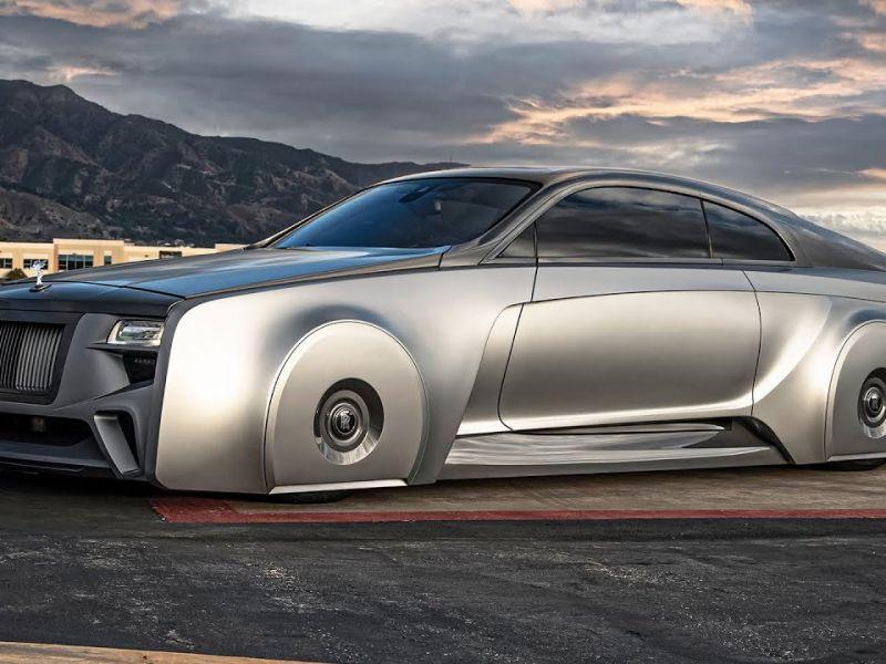 Justin Bieber si è regalato una futuristica Rolls-Royce personalizzata