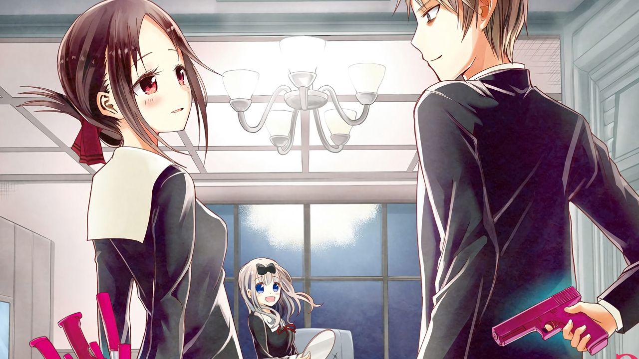 Kaguya-sama: Love is War: l'autore conferma, il manga è a 2/3 della storia