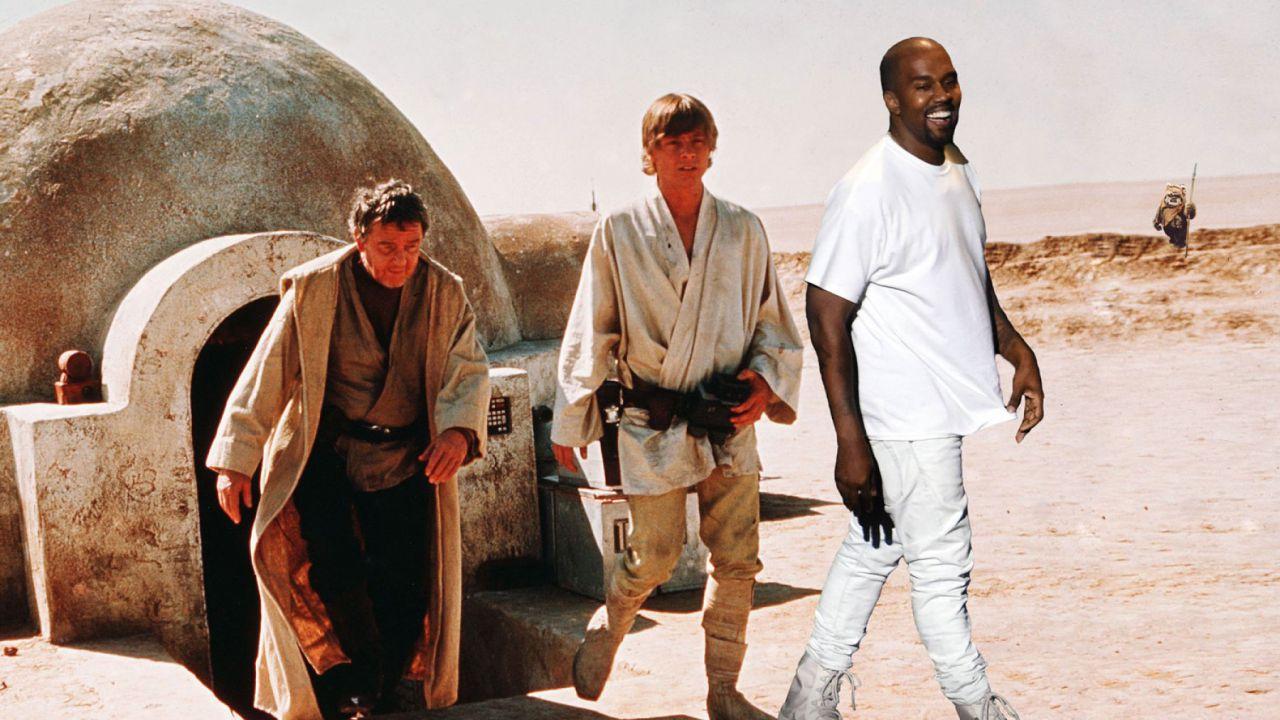 Kanye West difende i prequel di Star Wars: 'Di molto superiori ai sequel'