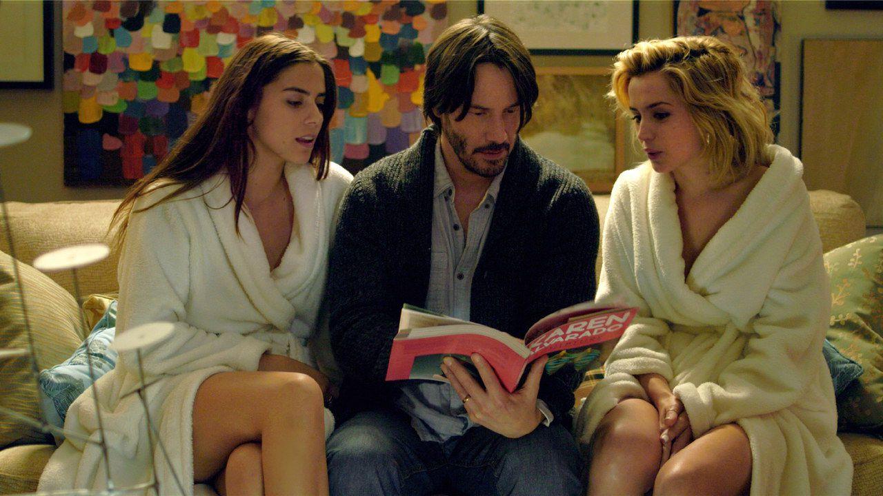 Keanu Reeves e l'imbarazzo sessuale con Ana de Armas e Lorenza Izzo sul set di Knock Knock