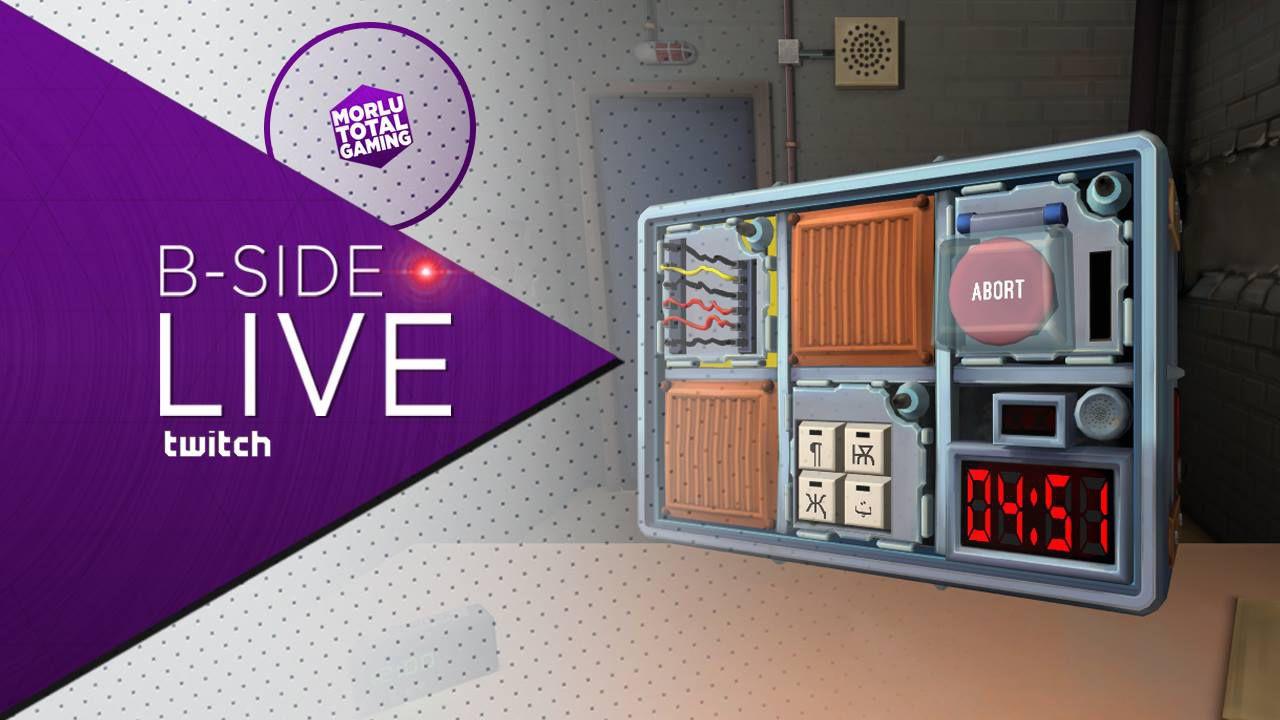 Keep Talking and Nobody Explodes giocato in diretta su Twitch - Replica Live 21/10/2015