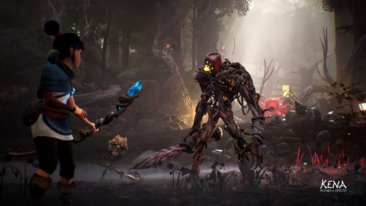 Kena Bridge of Spirits, boss fight e DLC: parla il team di Ember Lab