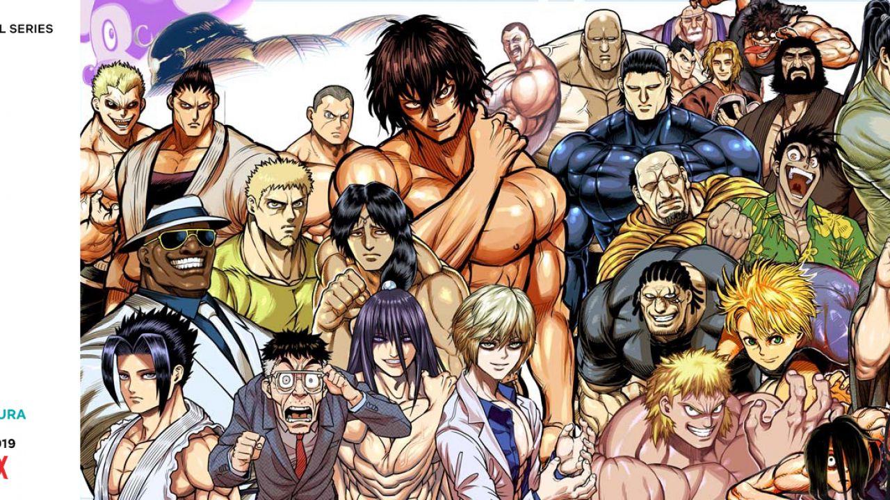 Kengan Ashura: l'anime Netflix vedrà l'arrivo di ben 14 nuovi personaggi