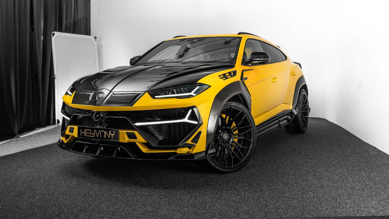 Keyrus, la Lamborghini Urus custom da 820 CV e 1.100 Nm di coppia