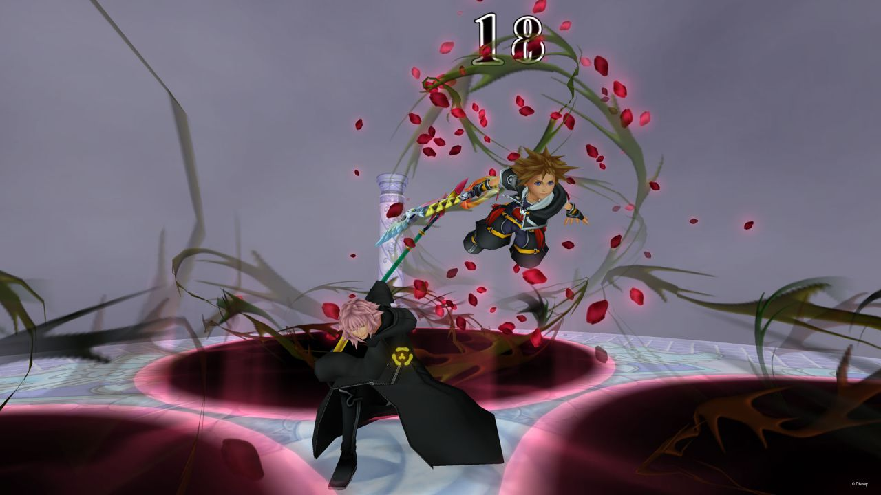 Kingdom Hearts 2.5 HD ReMIX: gameplay off-screen dalla Games Week