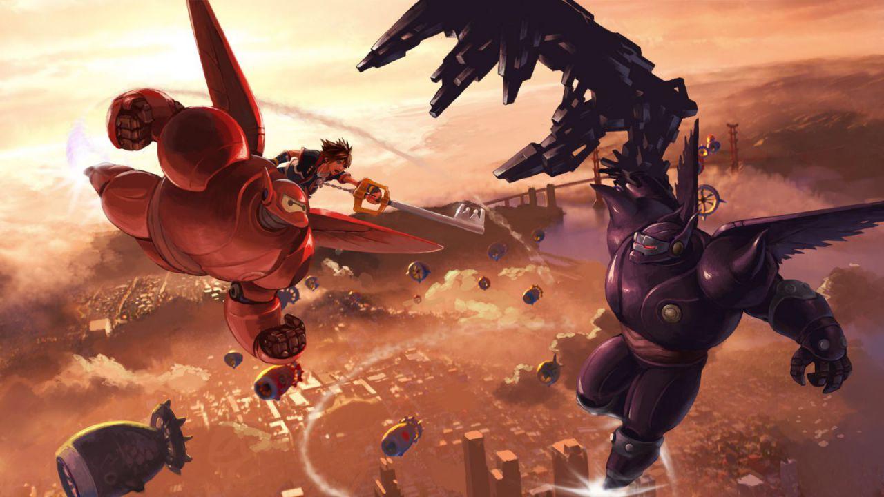 Kingdom Hearts 3 avrà un mondo dedicato a Big Hero 6