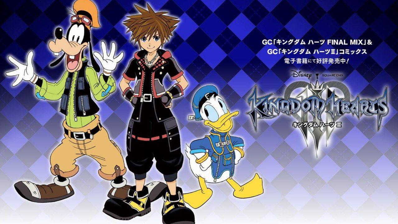 Kingdom Hearts 3: il prologo della serie manga è ora disponibile gratuitamente