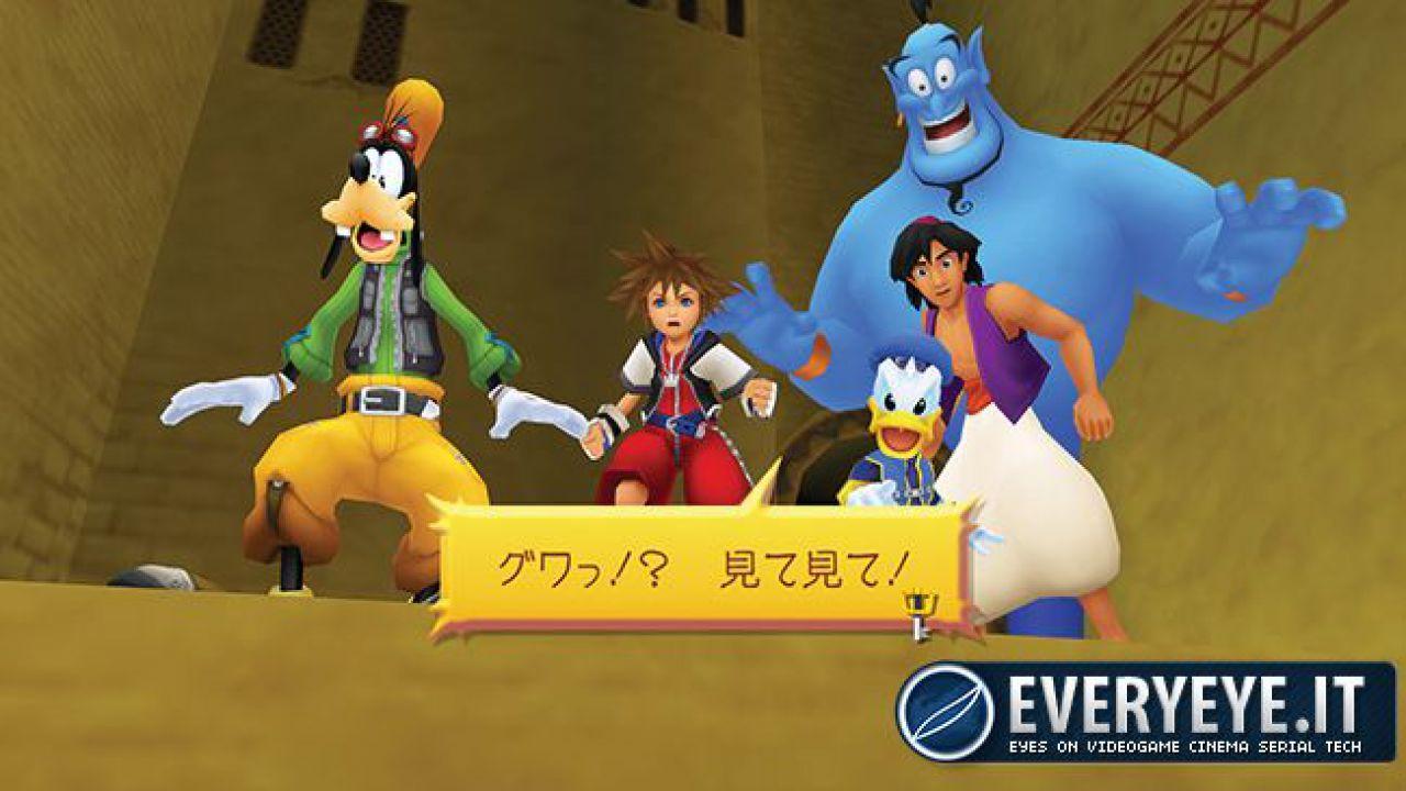 Kingdom Hearts HD 1.5 ReMIX in arrivo su PlayStation 3 in Europa