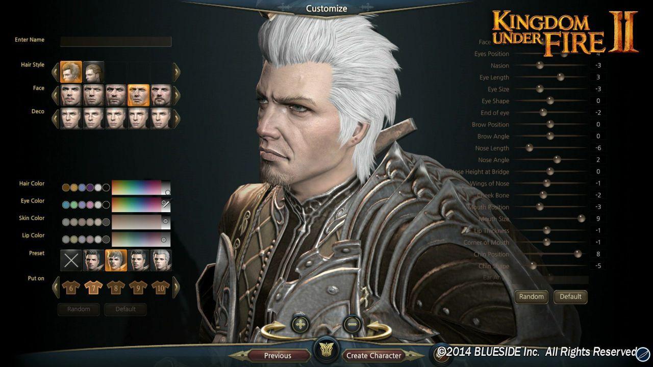 Kingdom Under Fire 2: personaggio esclusivo per la versione PlayStation 4