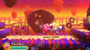 Kirby 3DS: pubblicato il primo video in-game