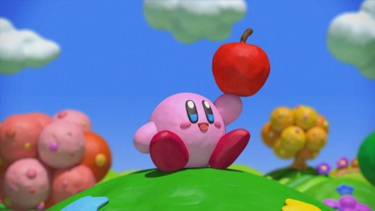 Kirby and the Rainbow Curse, copertina della versione americana