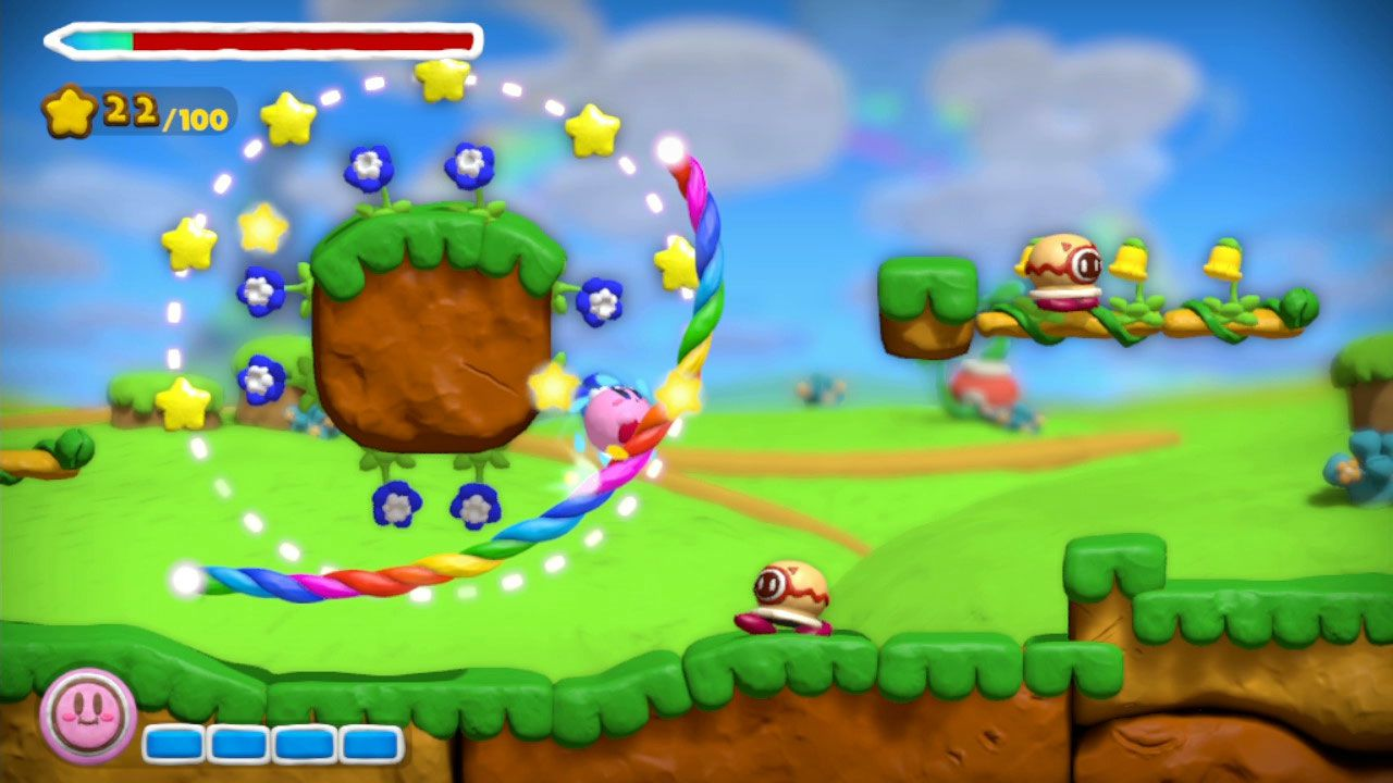 Kirby and the Rainbow Curse: nuovo video gameplay