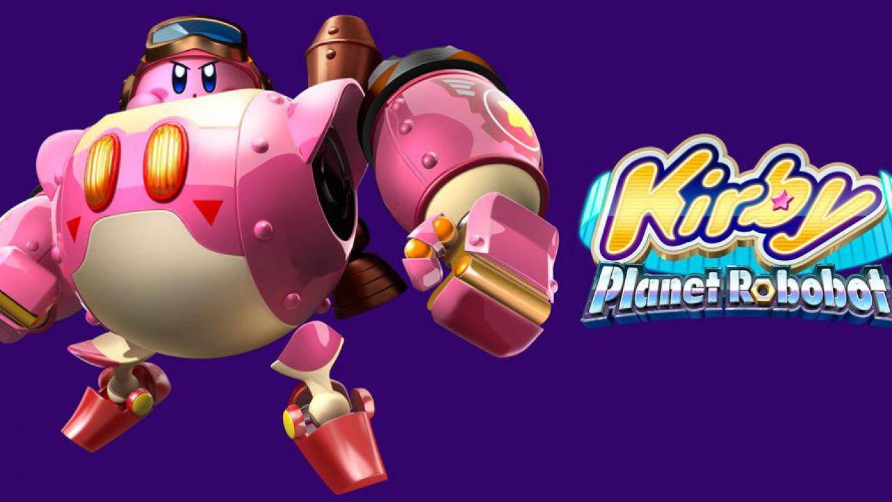 Kirby Planet Robobot debutta al primo posto della classifica giapponese