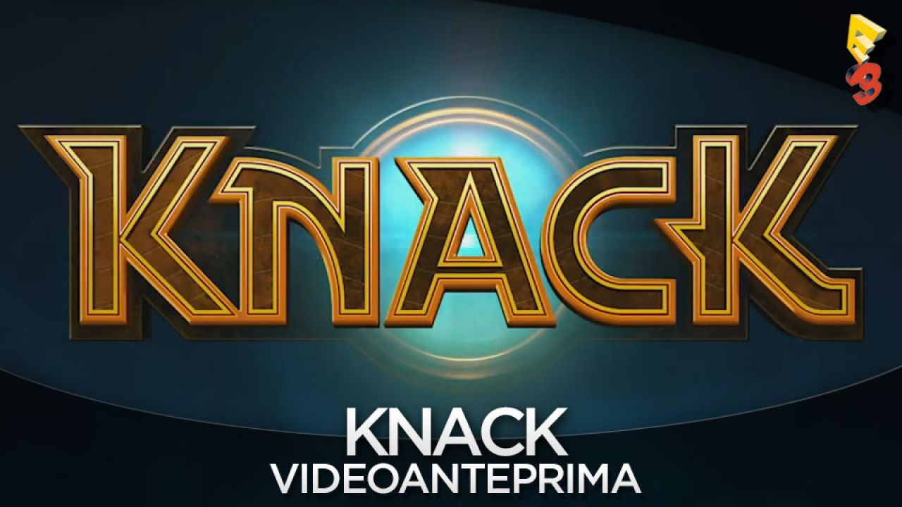 Knack: artwork e screenshot della modalità co-op