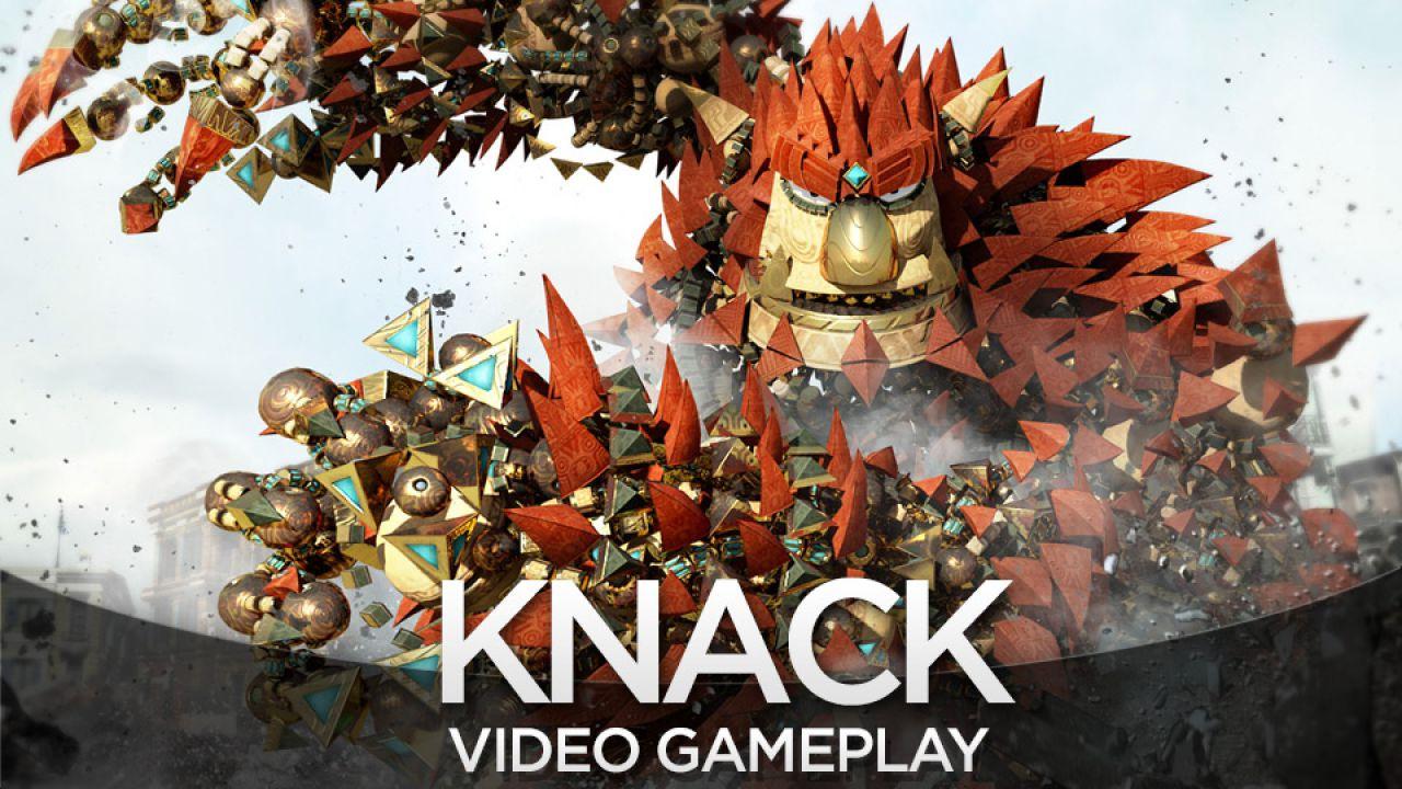 Knack: costruito un DualShock gigante per testarne l'accessibilità per i bambini