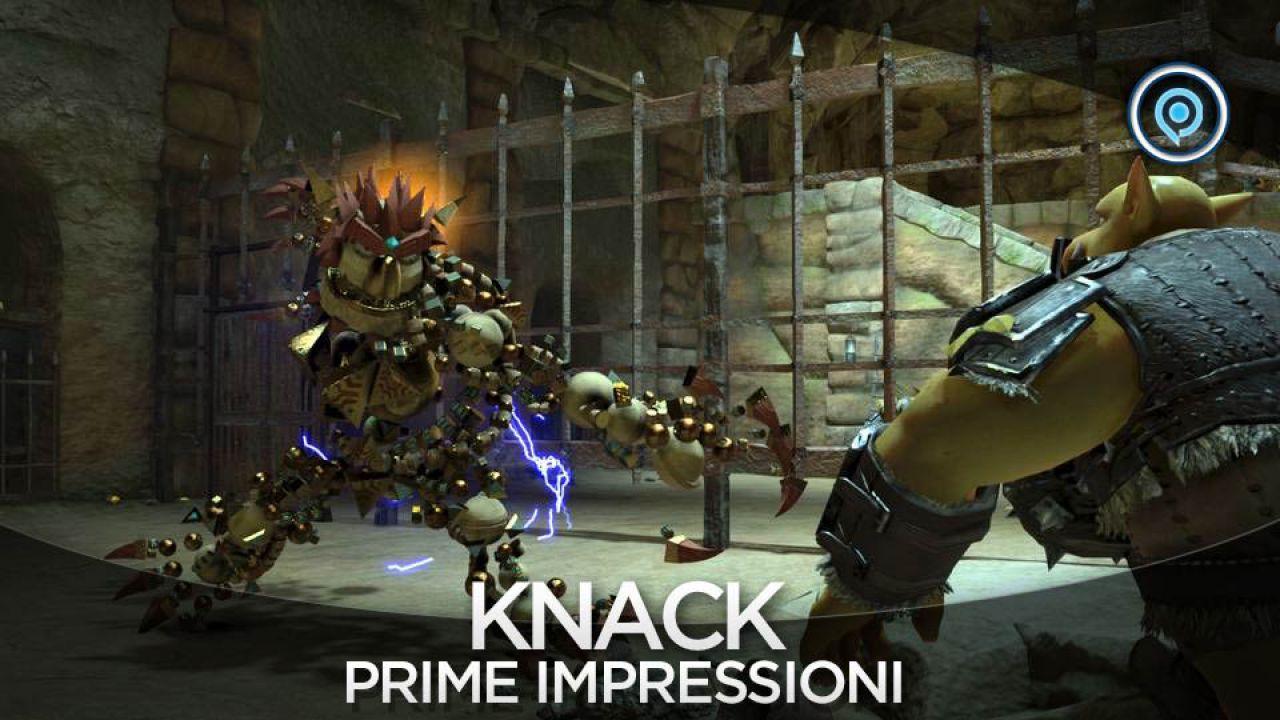 Knack: pubblicato il video della conferenza Sony