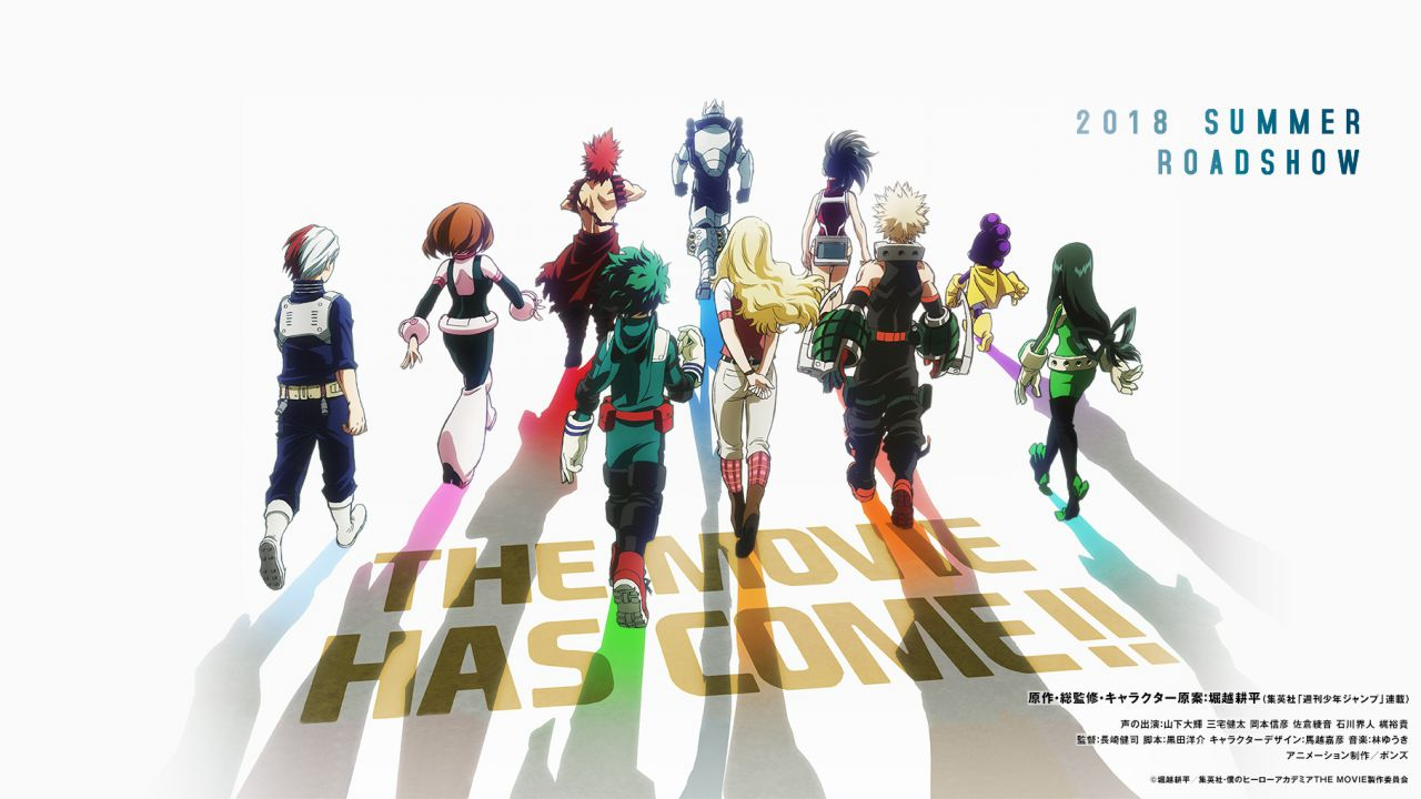 Kohei Horikoshi conferma la timeline del film My Hero Academia: Two Heroes