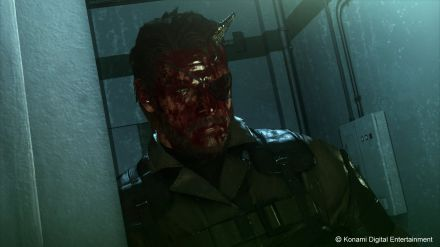 Kojima spiega l'uso del sangue nelle immagini di MGS 5 The Phantom Pain