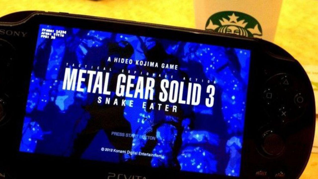 Konami conferma la data di uscita europea di Metal Gear Solid HD Collection per PS Vita