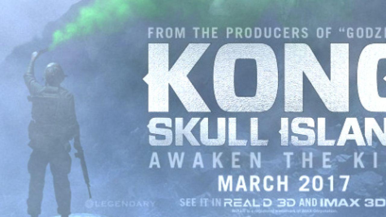 Kong: Skull Island, diffuso il teaser poster al San Diego Comic-Con 2016