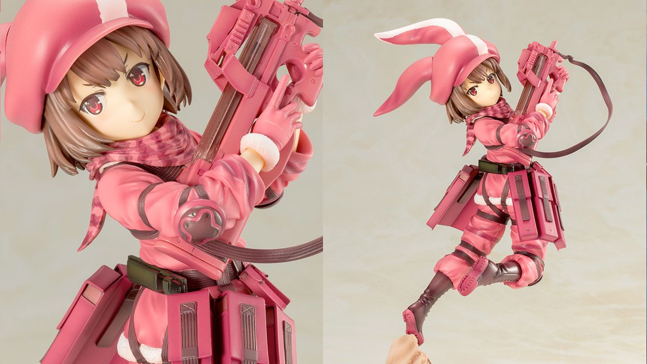 Kotobukiya apre i pre-ordini di LLENN da Sword Art Online Alternative: Gun Gale Online