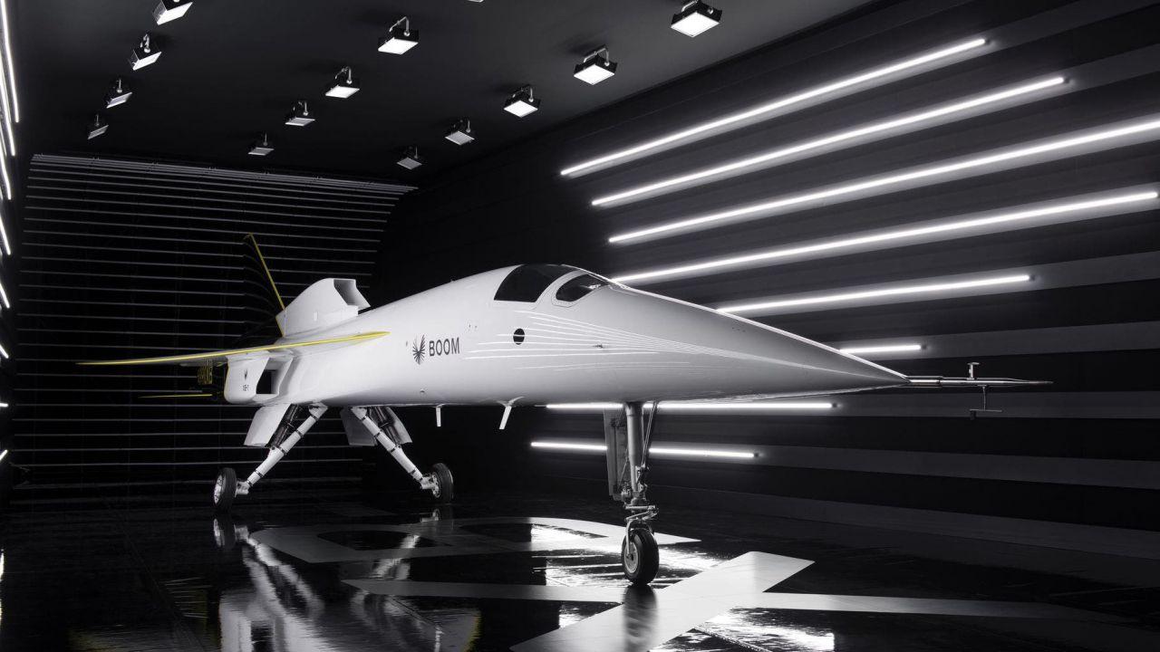 L'aereo supersonico Concorde ha un erede: svelato il jet Boom XB-1