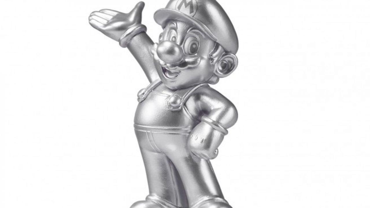 L'Amiibo argentato di Super Mario esce a fine mese negli USA