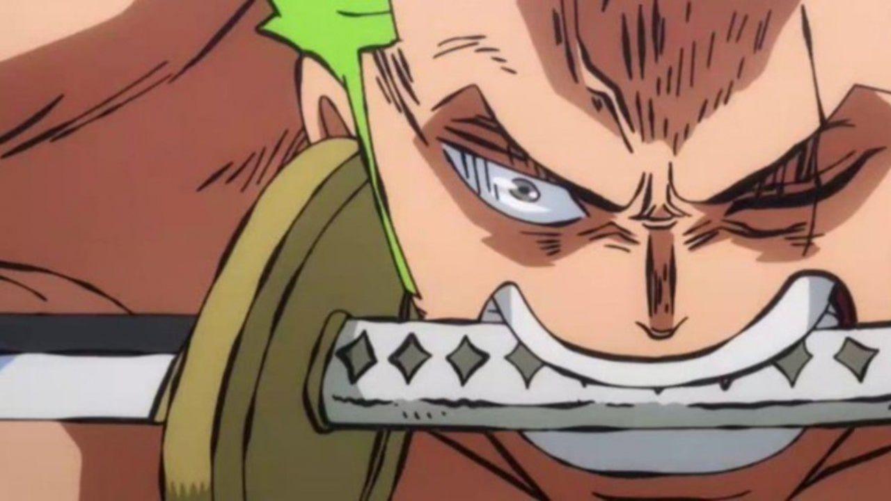 L'anime di ONE PIECE mostra una straordinaria animazione di Zoro