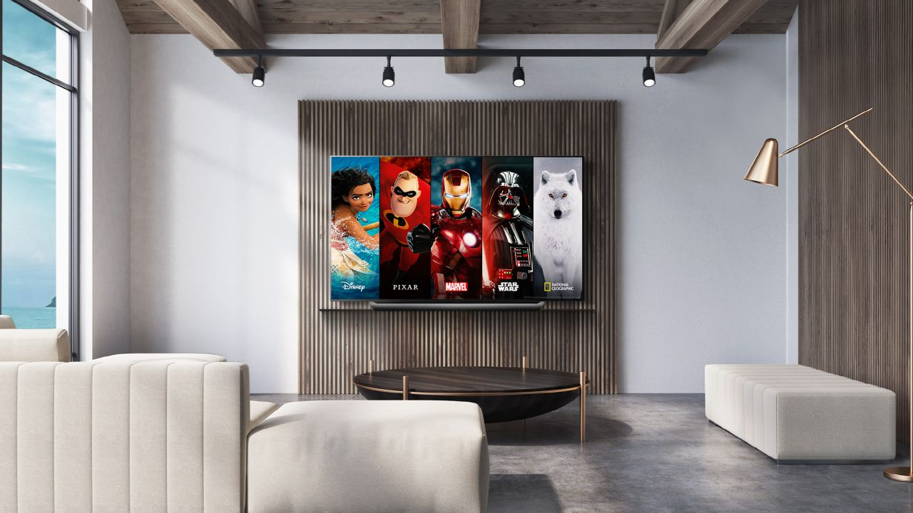L'applicazione di Disney+ è ora disponibile anche sui TV LG