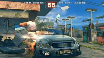 L'arte astratta prende vita con Street Fighter