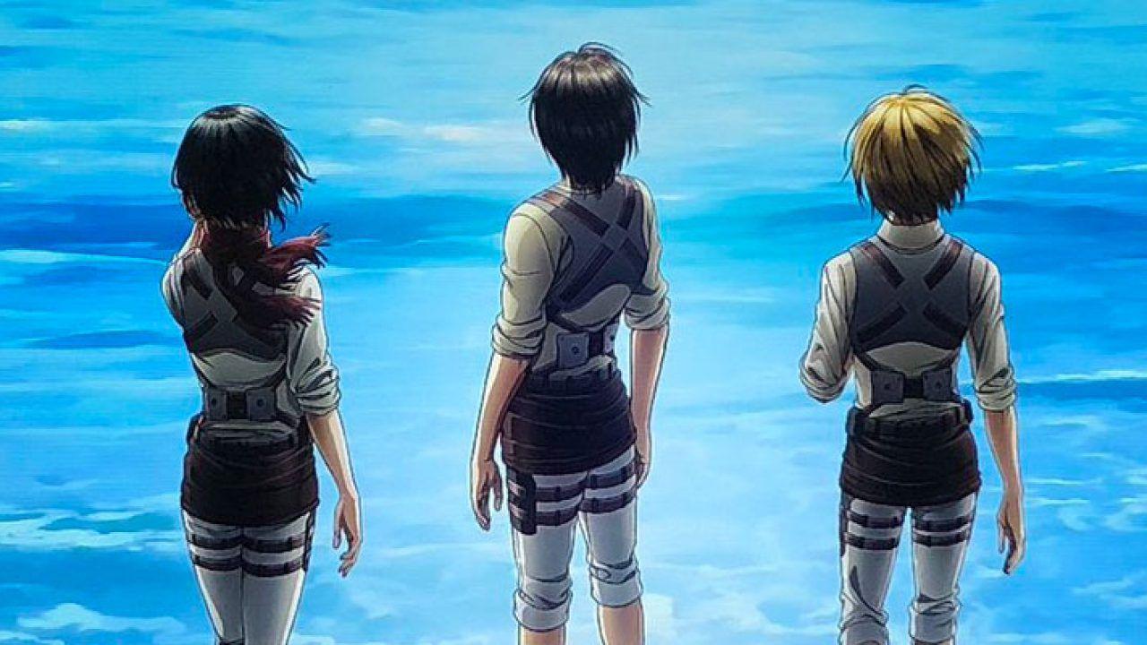 L'Attacco dei Giganti 4: una fan art ci mostra il poster dal punto di vista di Eren