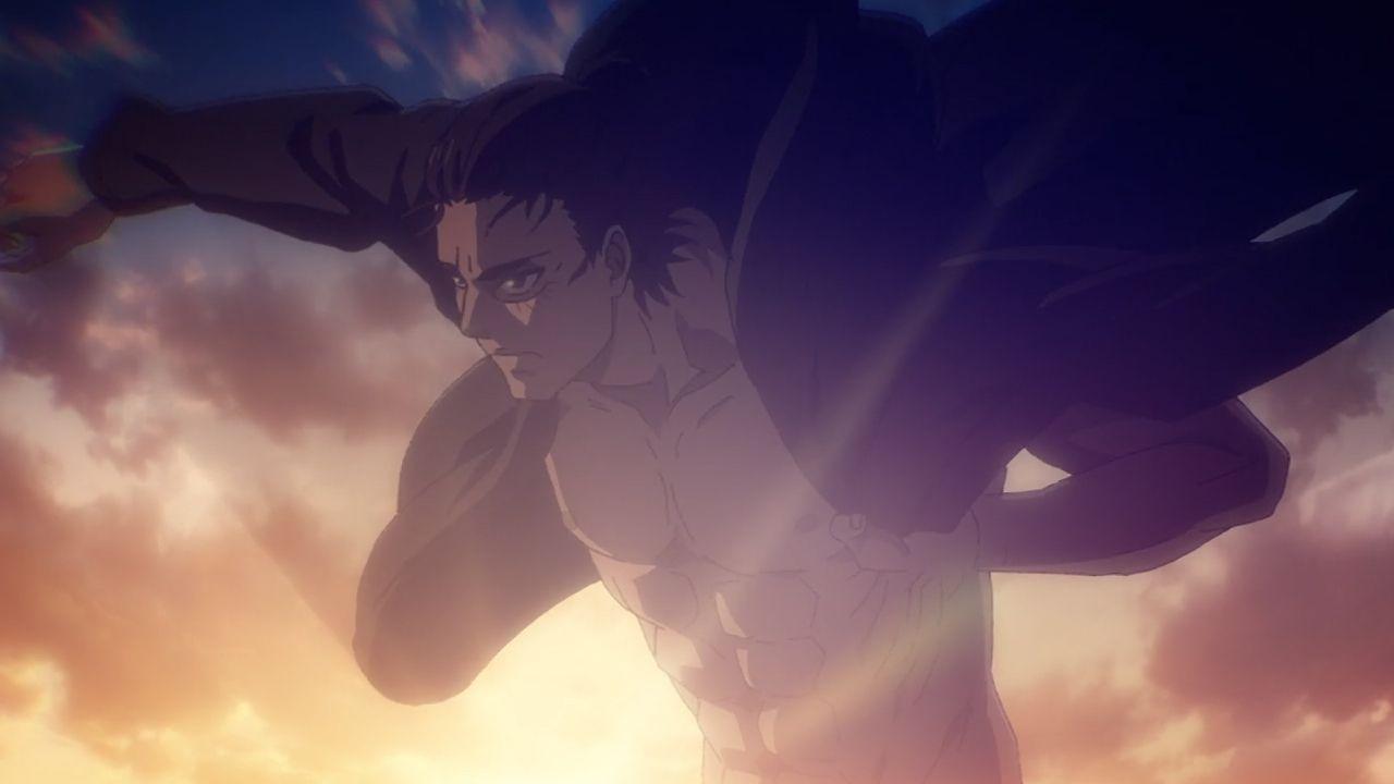 L'Attacco dei Giganti 4x12: i fan su Twitter reagiscono alla scena di Eren a torso nudo