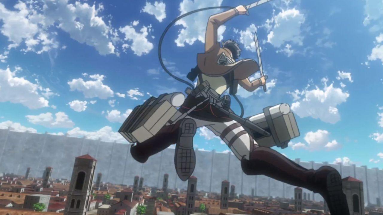 L'Attacco dei Giganti: il Dispositivo di Manovra 3D diventa realtà con questo cosplay