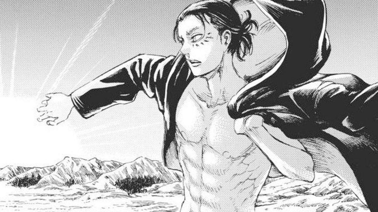 L'Attacco dei Giganti: Eren si mostra più insensibile che mai nell'ultimo capitolo