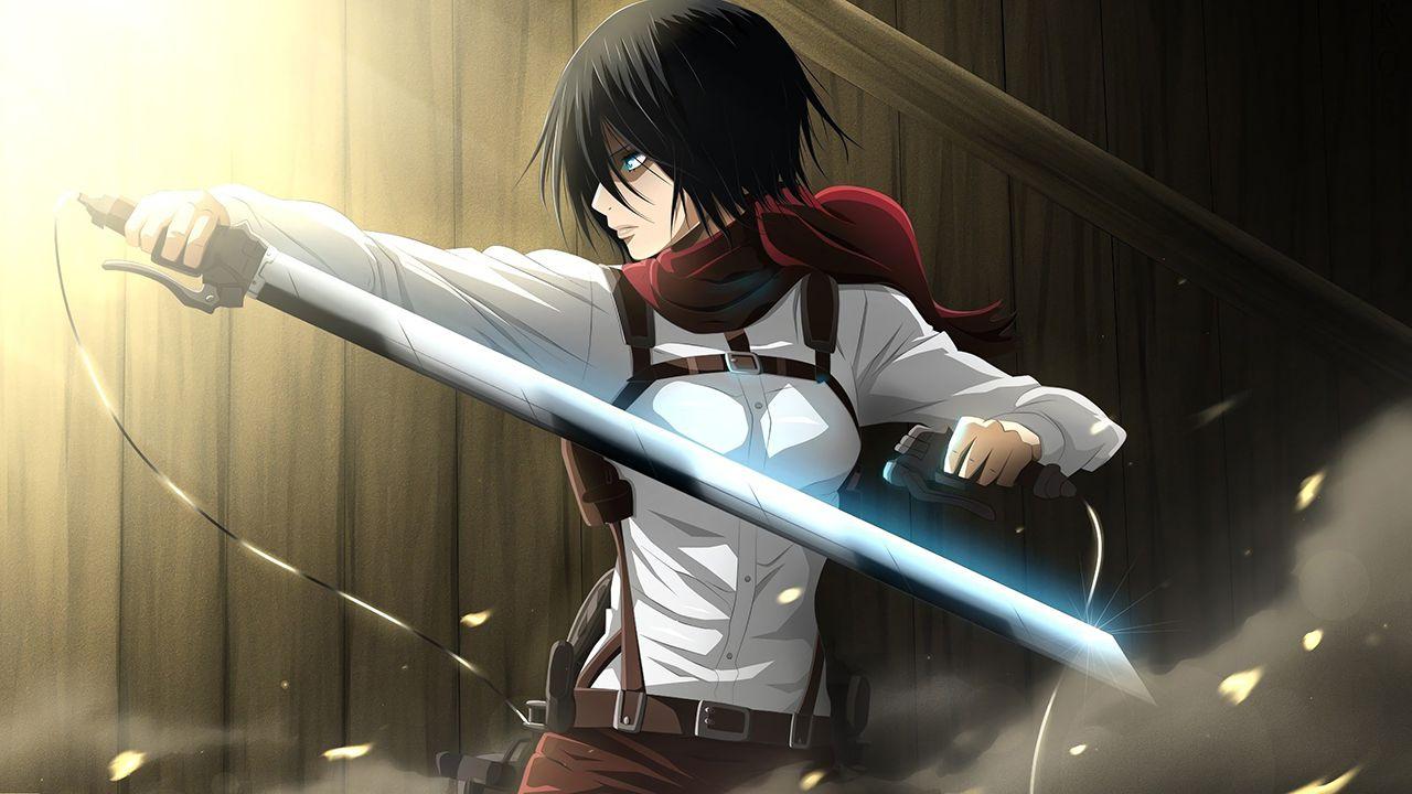L'Attacco dei Giganti: Mikasa è pronta all'azione nel cospay di Mangoecos