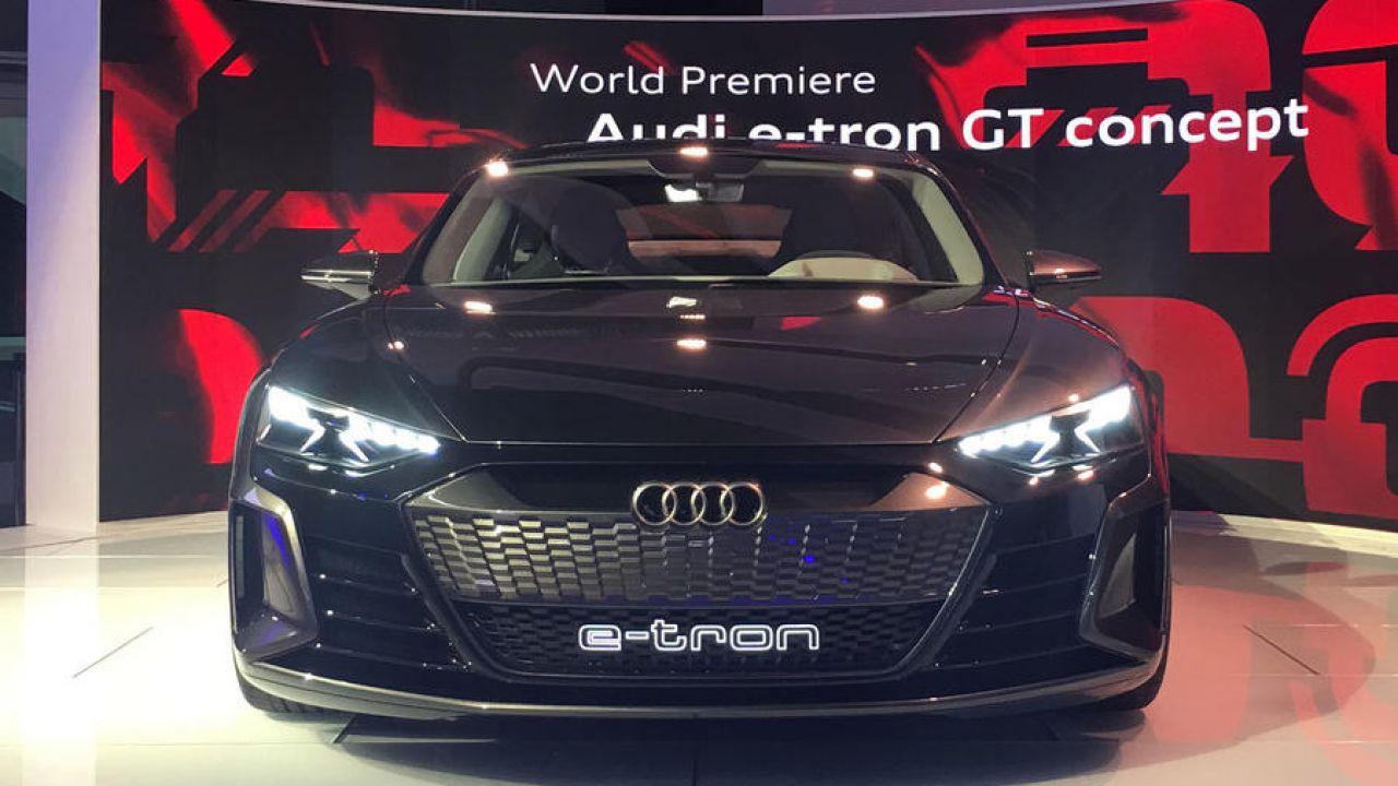 L'Audi E-Tron GT 2020 debutterà al Salone di Los Angeles