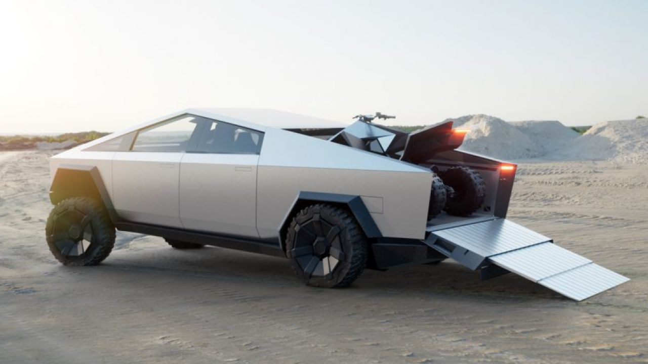 L'avanzatissimo sistema di carico del Tesla Cybertruck cambierà il mercato
