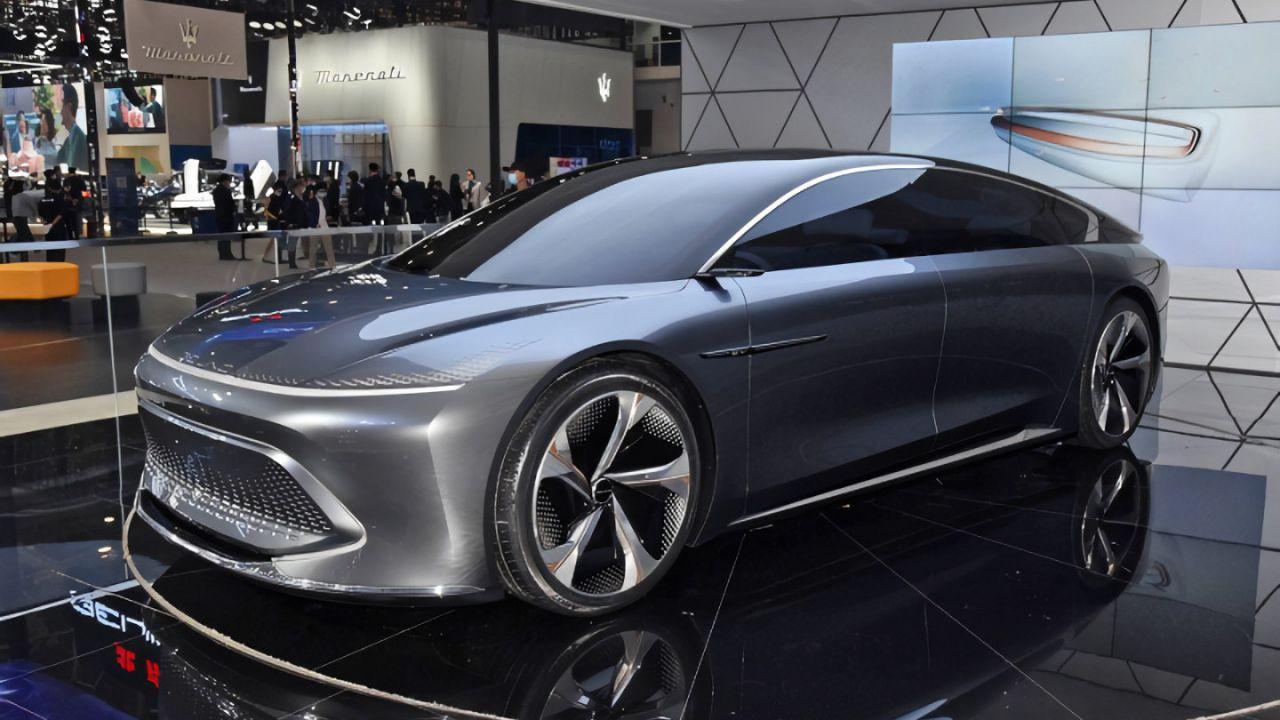 L'elettrica Beijing Radiance Concept sfida Tesla con 800 km di autonomia