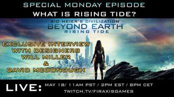 L'espansione Rising Tide di Civilization Beyond Earth verrà mostrata tra poco su Twitch