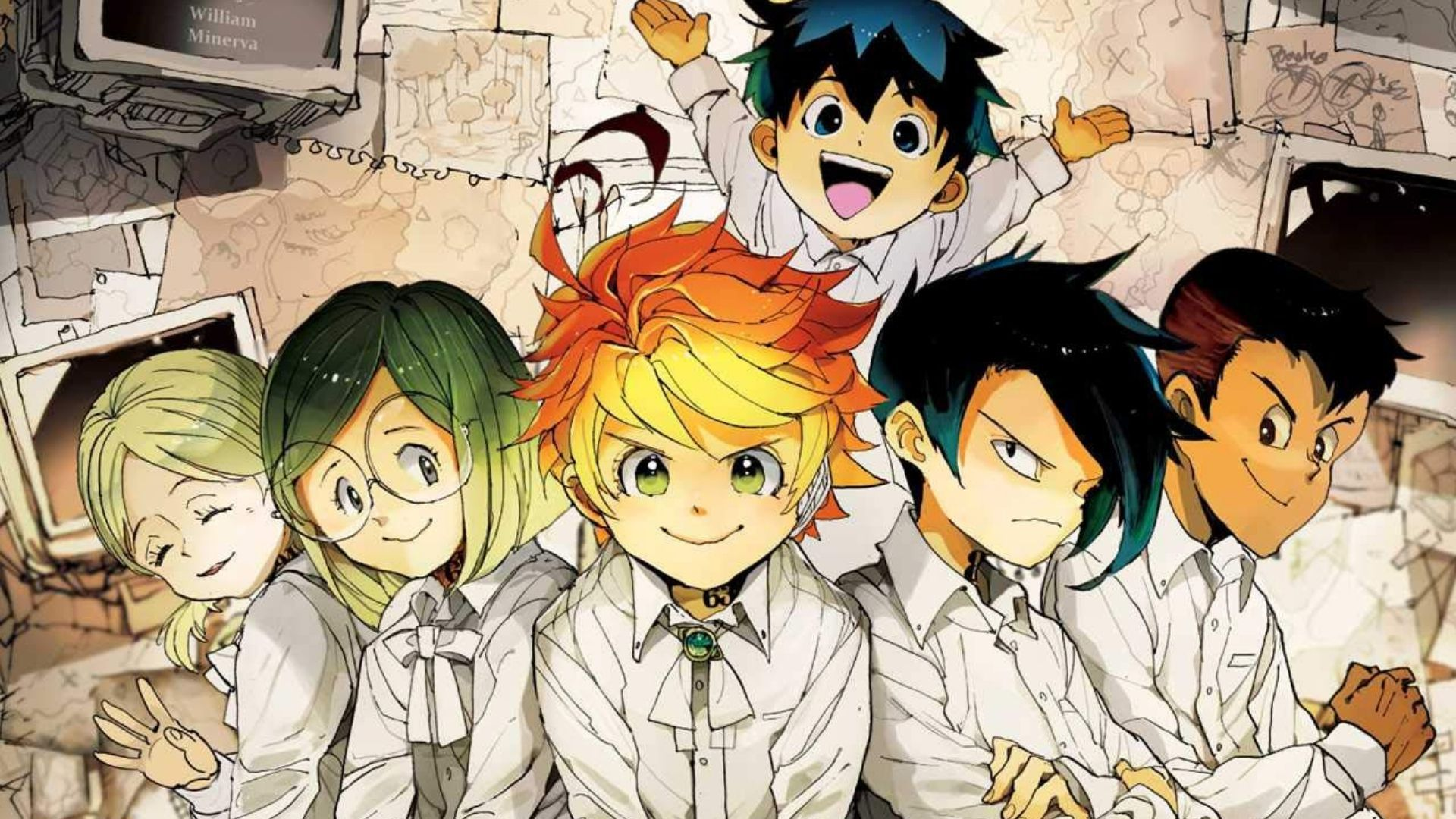 The Promised Neverland Illustrator Created The Cover Of A Famous Magazine Anime Sweet