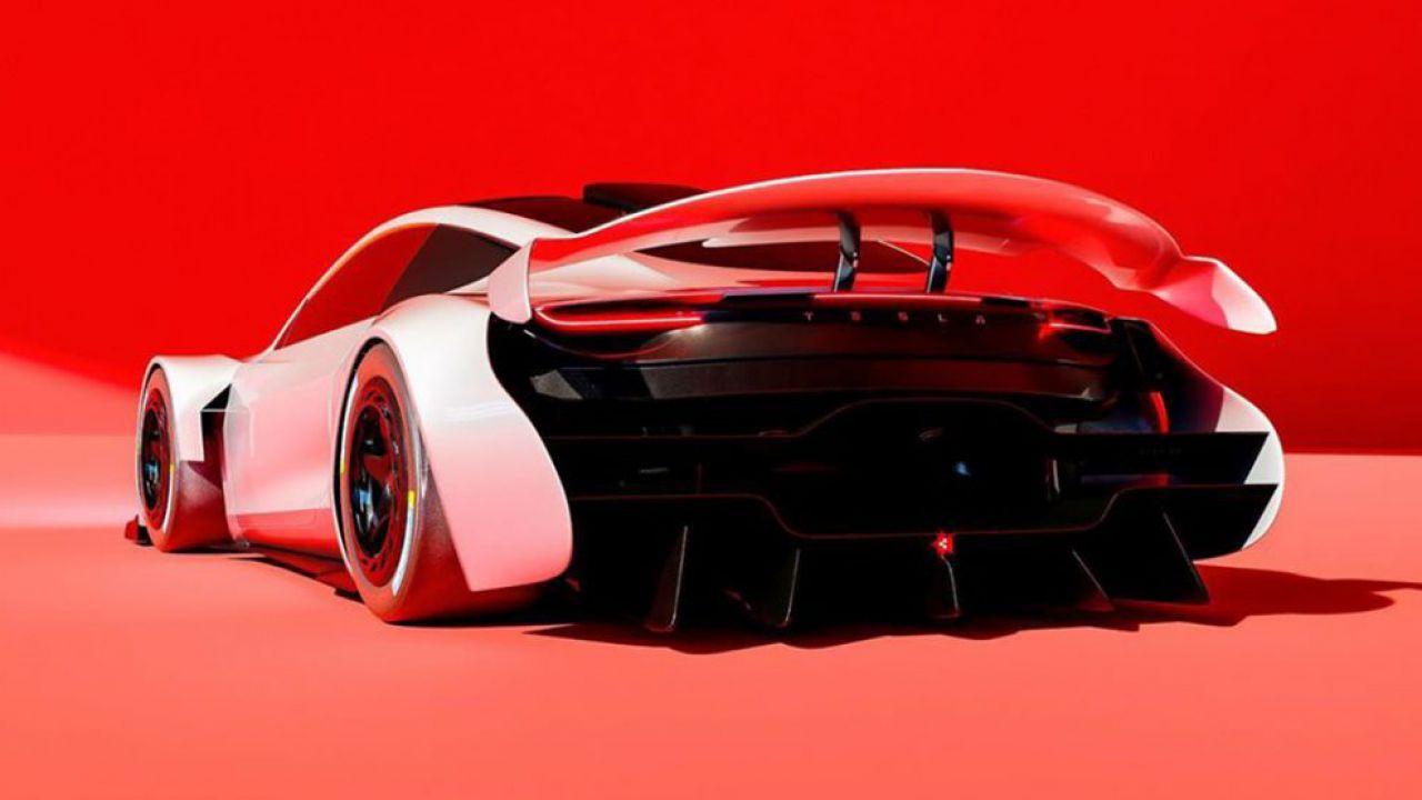 L'immaginaria Tesla LM è una folle Roadster di seconda generazione