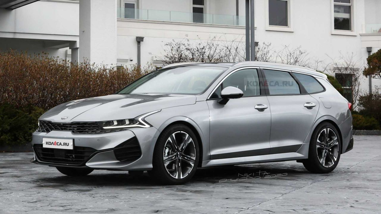 L'imminente Kia Optima è una Sports Wagon piuttosto seducente