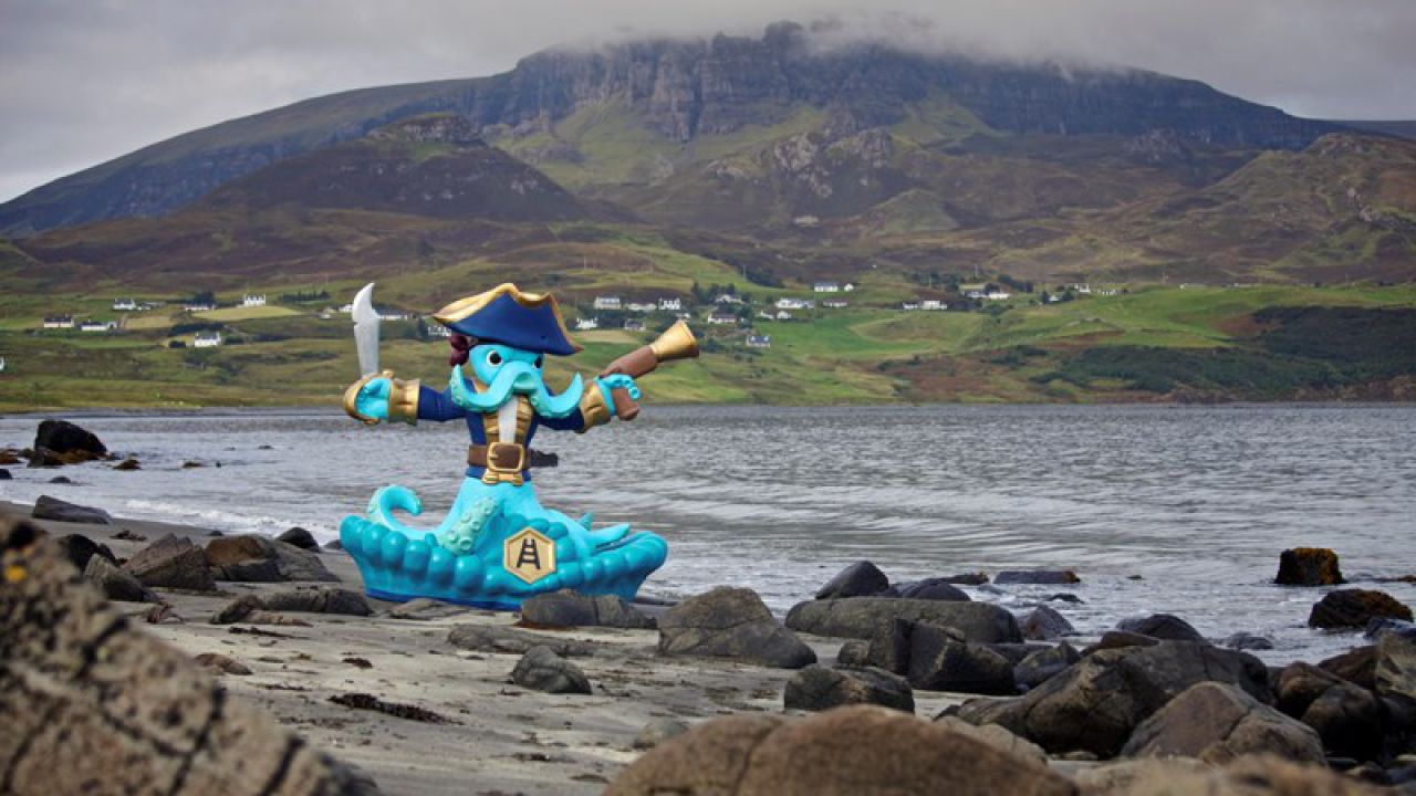 L'isola di Skye si lega a Skylanders Swap Force