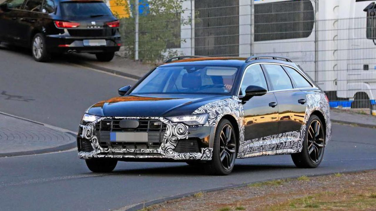 La Audi A6 Allroad si mostra in alcune nuove foto-spia