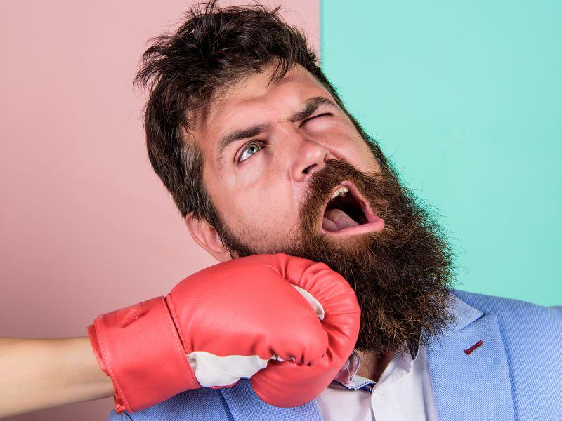 La barba nell'uomo si è evoluta per attutire i pugni sulla mascella?