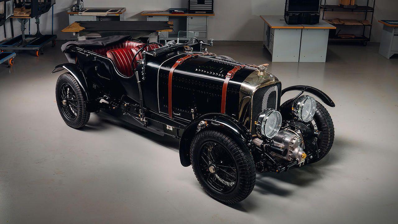 La Bentley Blower torna in produzione dopo 90 anni