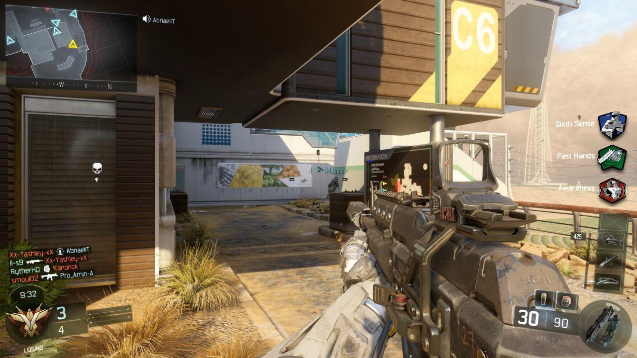 La beta di Call of Duty Black Ops 3 si mostra in 4K